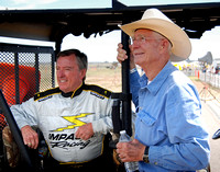 Johnny Rutherford and Jim Hall